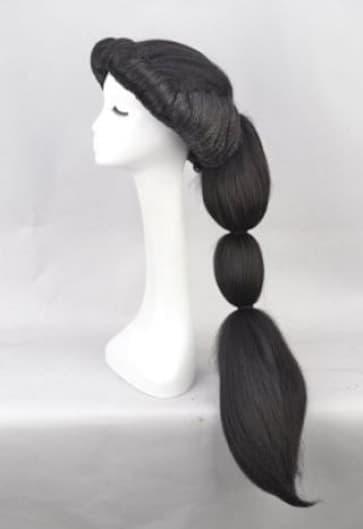 Jasmine Aladdin Hair Wig Cosplay